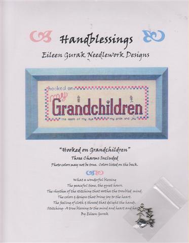click here to view larger image of Hooked On Grandchildren (chart with charms/buttons)