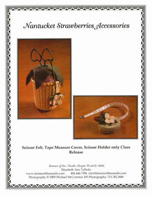 click here to view larger image of Nantucket Strawberries Accessories (chart)