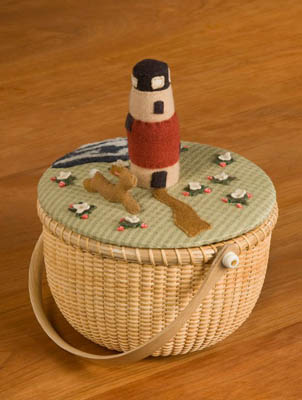 click here to view larger image of Nantucket Strawberries Basket Topper (chart)