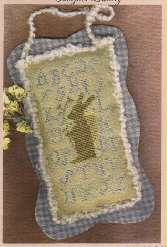 click here to view larger image of Sampler Bunny (charm)