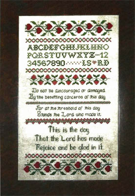 click here to view larger image of Louise's Sampler (chart)