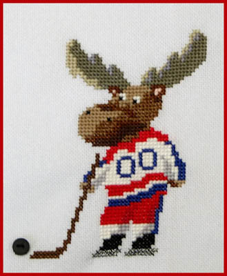 click here to view larger image of Malcolm The Hockey Moose (chart)