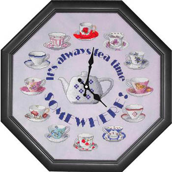 click here to view larger image of Teatime Clock (chart)