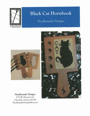 click here to view larger image of Black Cat Hornbook (chart)