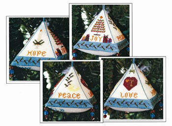 click here to view larger image of Christmas Wishes Ornament (chart)