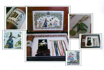 click here to view larger image of Off With Their Heads Sewing Box (chart)