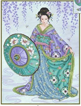 click here to view larger image of Blue Geisha (chart)