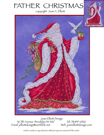 click here to view larger image of Father Christmas (chart)
