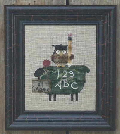 click here to view larger image of Ewe Teach (counted cross stitch kit)