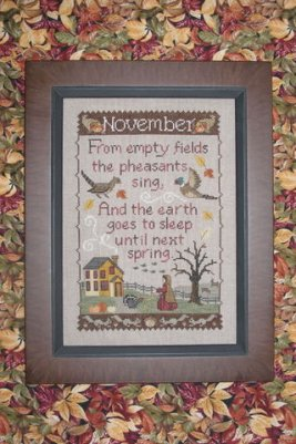 click here to view larger image of Monthly Sampler - November (chart)
