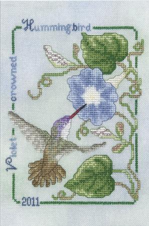 click here to view larger image of Violet Crowned Hummingbird - 2011 Commemorative (chart)