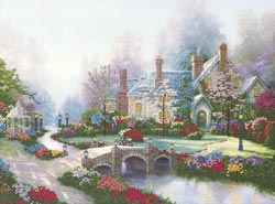 click here to view larger image of Beyond Spring Gate (counted cross stitch kit)