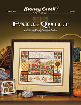 click here to view larger image of Fall Quilt (chart)