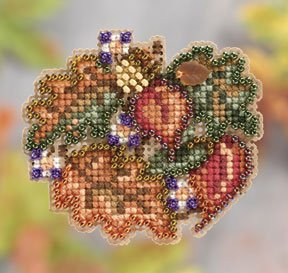 click here to view larger image of Autumn Circle (2011) (counted cross stitch kit)