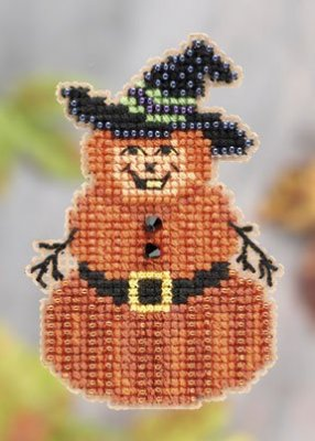 click here to view larger image of Pumpkin Man (2011) (counted cross stitch kit)