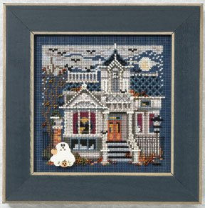 click here to view larger image of Haunted Mansion  (2011) (counted cross stitch kit)