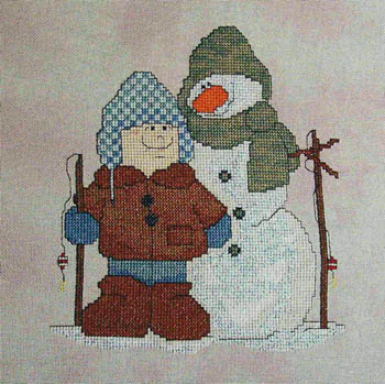 click here to view larger image of Frosty Fishing Friends (chart)