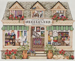 click here to view larger image of Needlework Shoppe (counted cross stitch kit)