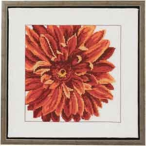 click here to view larger image of Dahlia (counted cross stitch kit)