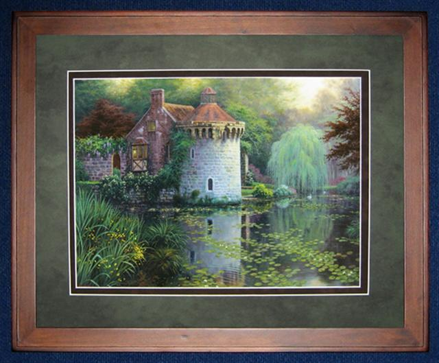 click here to view larger image of Scotney Castle (counted cross stitch kit)