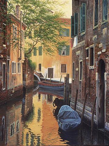 click here to view larger image of Venetian Back Alley (counted cross stitch kit)