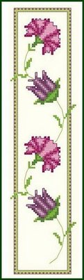 click here to view larger image of Dance of the Carnation with Tulip (chart)