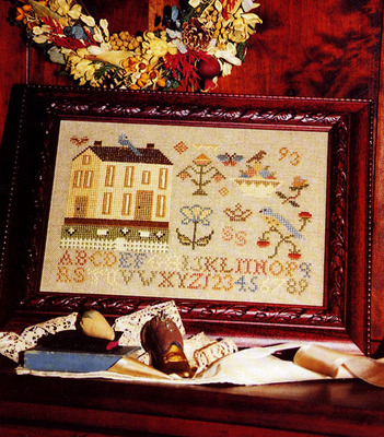 click here to view larger image of Country House Sampler (chart)