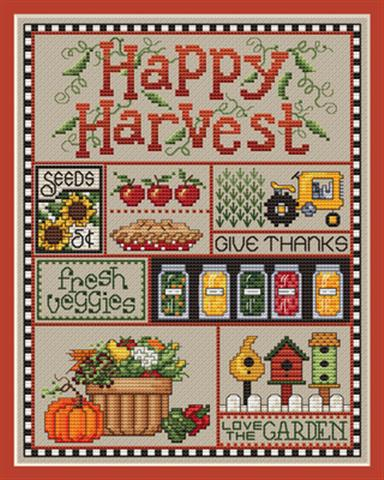 click here to view larger image of Happy Harvest (chart)
