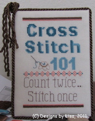 click here to view larger image of Cross Stitch 101 (chart)