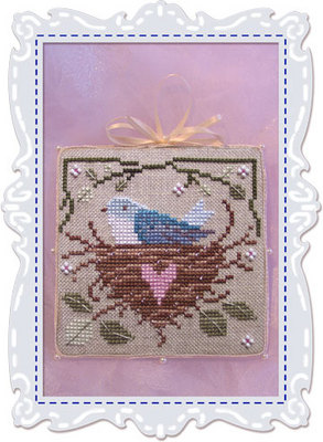 click here to view larger image of Bride's Tree Ornament 5 - Happiness (chart)