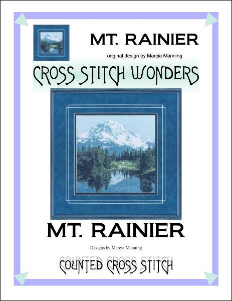 click here to view larger image of Mt Rainier (chart)