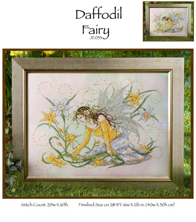 click here to view larger image of Daffodil Fairy (chart)