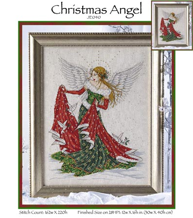 click here to view larger image of Christmas Angel (chart)