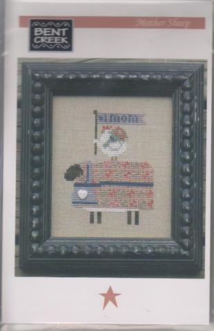 click here to view larger image of Mother Sheep (counted cross stitch kit)