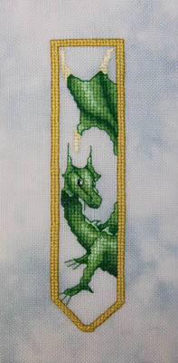 click here to view larger image of Green Dragon Bookmark (chart)