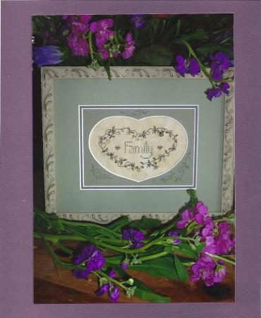 click here to view larger image of Family (counted cross stitch kit)