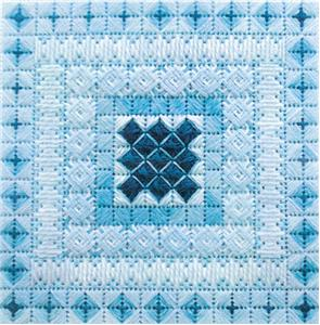 click here to view larger image of Color Delights - Aquamarine (counted canvas chart)