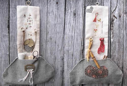 click here to view larger image of Spring and Summer - Seasonal Hanging Pocket Hangers (chart)