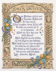 click here to view larger image of The Lords Prayer (counted cross stitch kit)