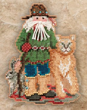 click here to view larger image of Canyon Santa (2011) (counted cross stitch kit)