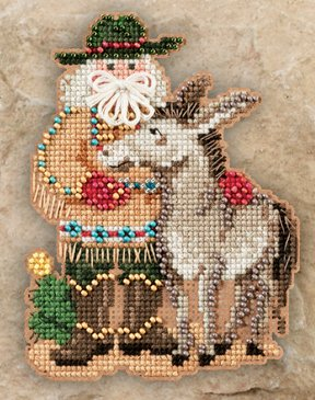 click here to view larger image of Desert Santa (2011) (counted cross stitch kit)