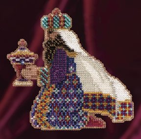 click here to view larger image of Melchior (2011) - Trilogy Ornament Kit (counted cross stitch kit)