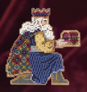 click here to view larger image of Gaspar (2011) - Trilogy Ornament Kit (counted cross stitch kit)