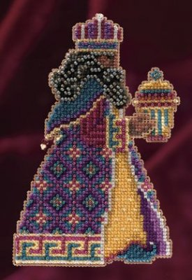 click here to view larger image of Balthasar (2011) - Trilogy Ornament Kit (counted cross stitch kit)