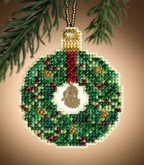 click here to view larger image of Emerald Wreath (2011)  (counted cross stitch kit)