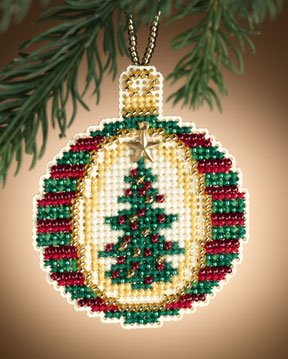 click here to view larger image of Golden Tannenbaum (2011)  (counted cross stitch kit)