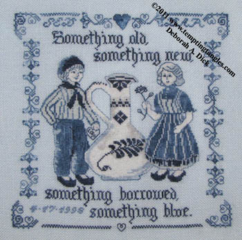 click here to view larger image of Delft Wedding Sampler (chart)