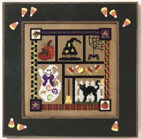 click here to view larger image of Spooky Collage (button-bead kit)