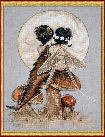 click here to view larger image of  Clair de Lune (KIT) (counted cross stitch kit)
