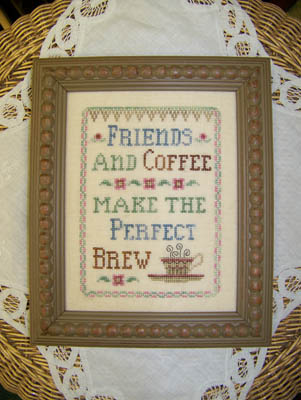click here to view larger image of Friends & Coffee (chart)